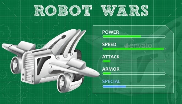 Robot Wars With Special Features - Man-made Objects Objects
