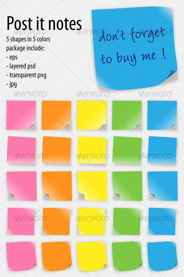 post-it notes - Business Backgrounds