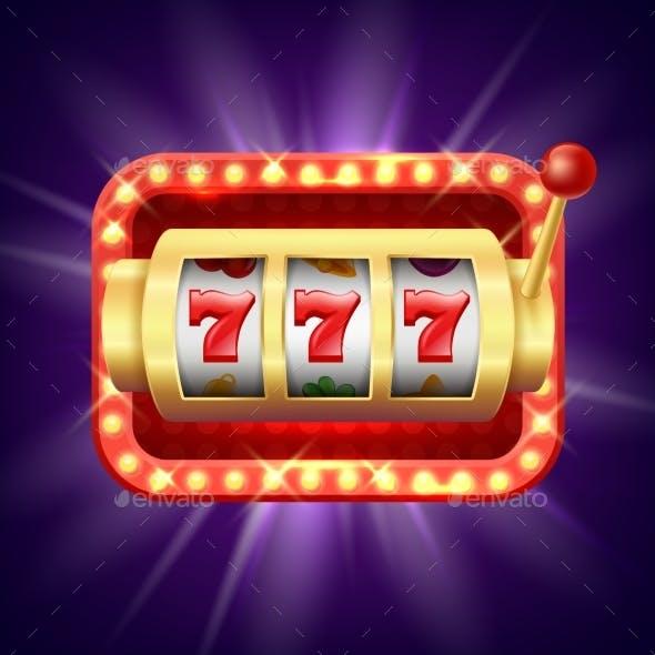 Jackpot at Slot Machine