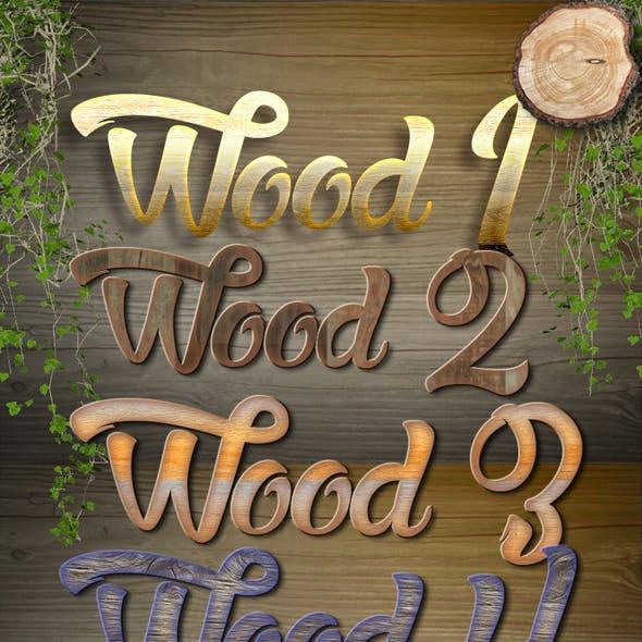 New Wood Styles
