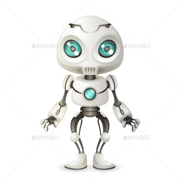 Robot Mascot Innovation Scifi - Computers Technology