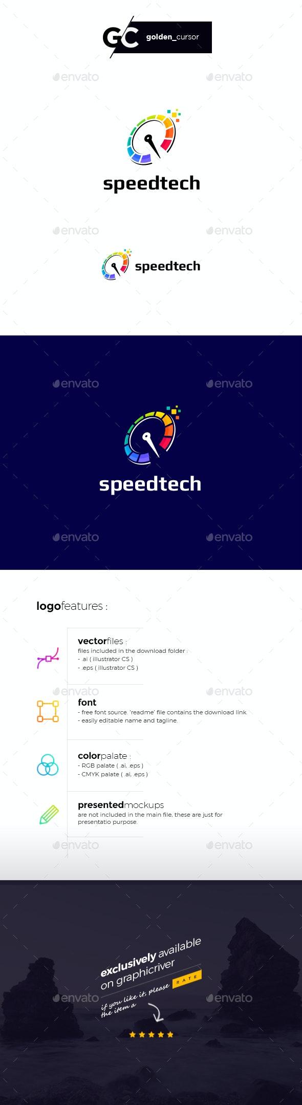 Speedtech Logo Template - Symbols Logo Templates