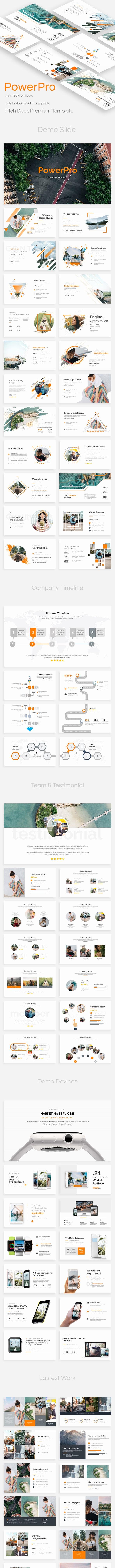Powerpro Pitch Deck Powerpoint Template - Business PowerPoint Templates