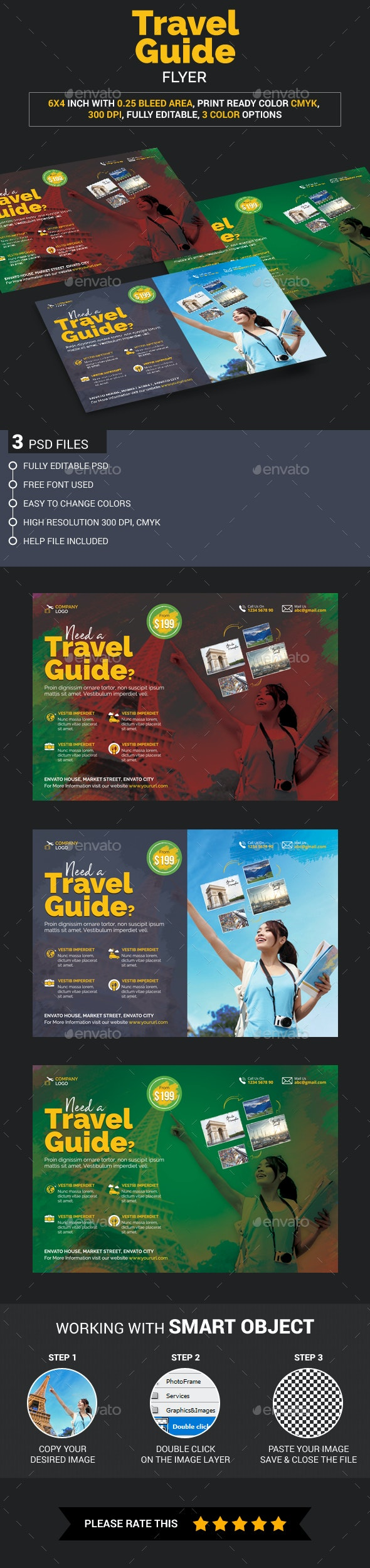 Travel Guide Flyer - Holidays Events