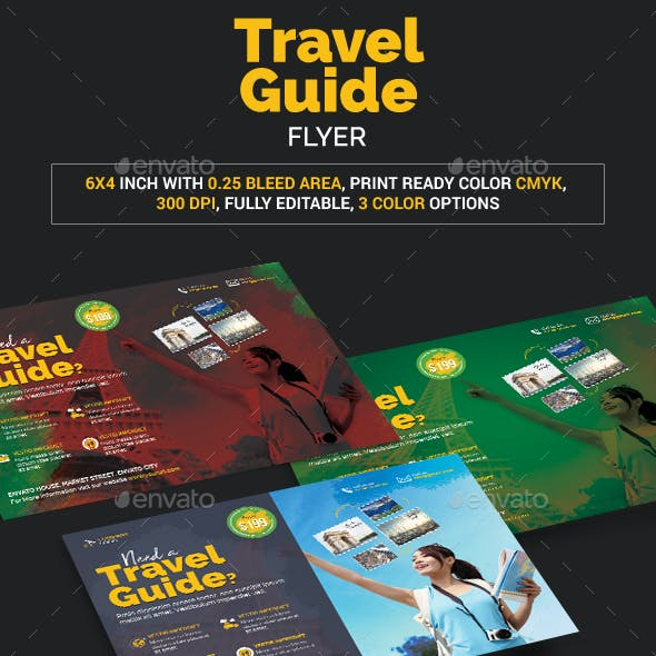 Travel Guide Flyer
