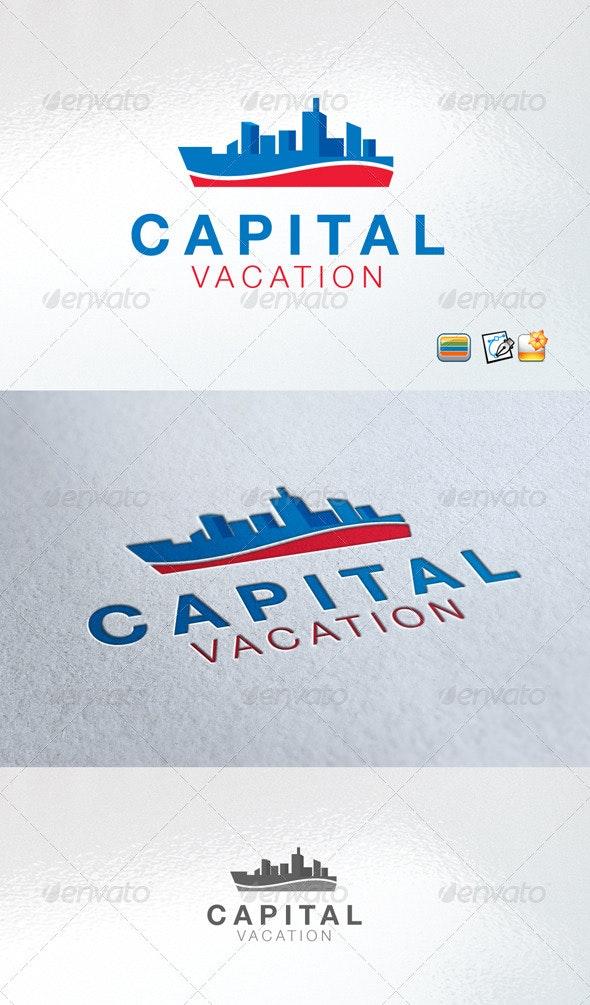 Capital Vacation - Buildings Logo Templates