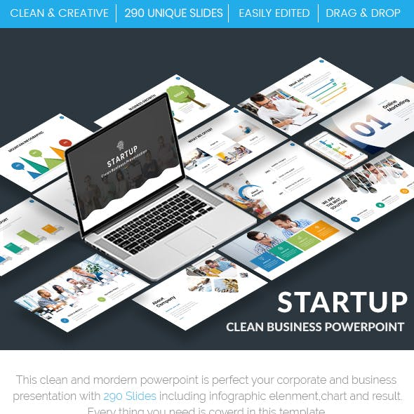 2 in 1 Effective Pitch Deck Powerpoint Template