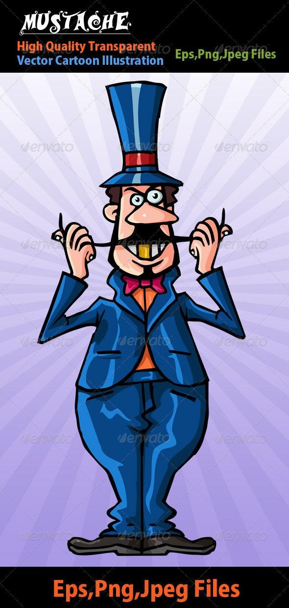 Mustache - Characters Vectors