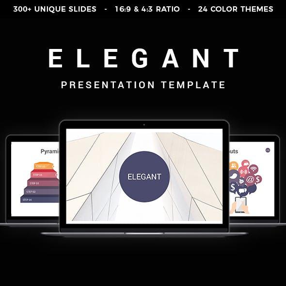 Elegant Keynote Template