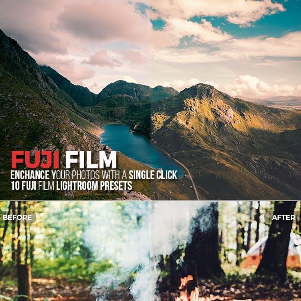 10 Fuji Film Lightroom Presets