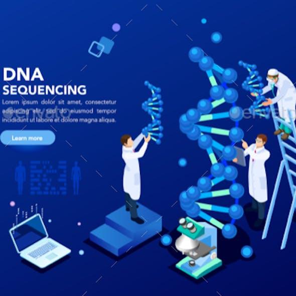 Genetics Laboratory Biotech Banner