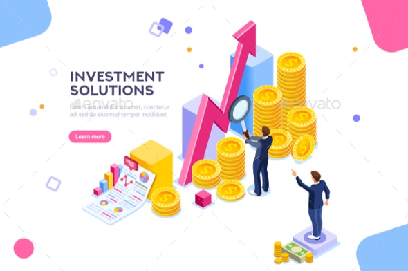 Investments Analysis Concept Vector - Concepts Business