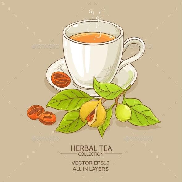 Mug of Nutmeg Tea - Food Objects