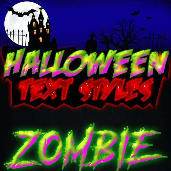 10 Halloween Text Styles