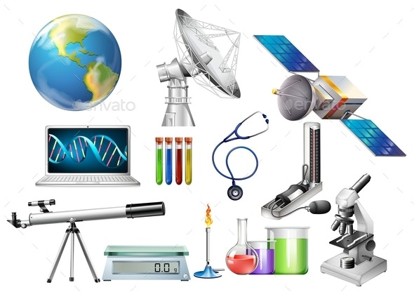 Different Types Of Devices - Man-made Objects Objects
