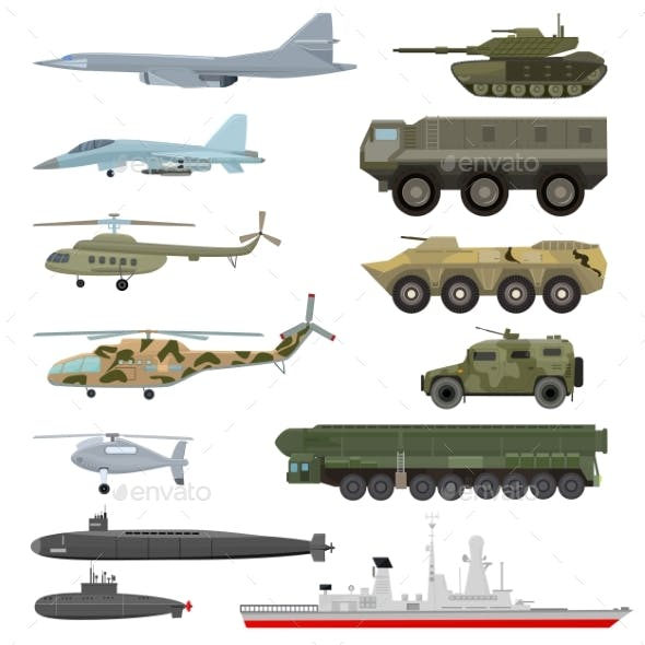 Military Transport Vectors