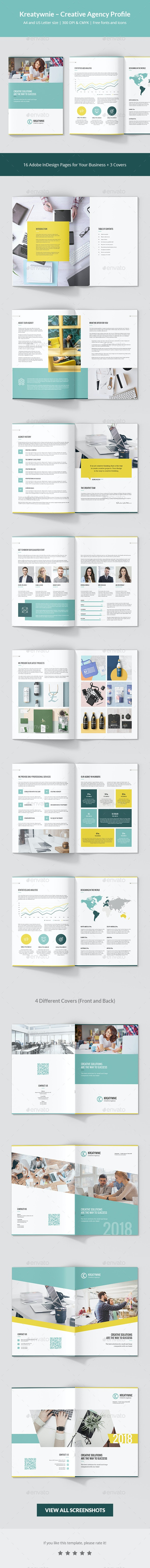 Kreatywnie – Creative Agency Profile - Corporate Brochures