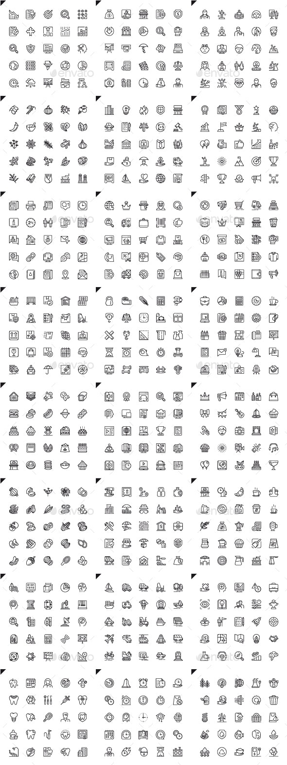 Line Icons - Icons