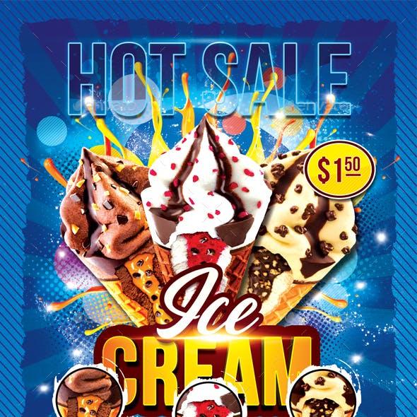 Ice-Cream Flyer