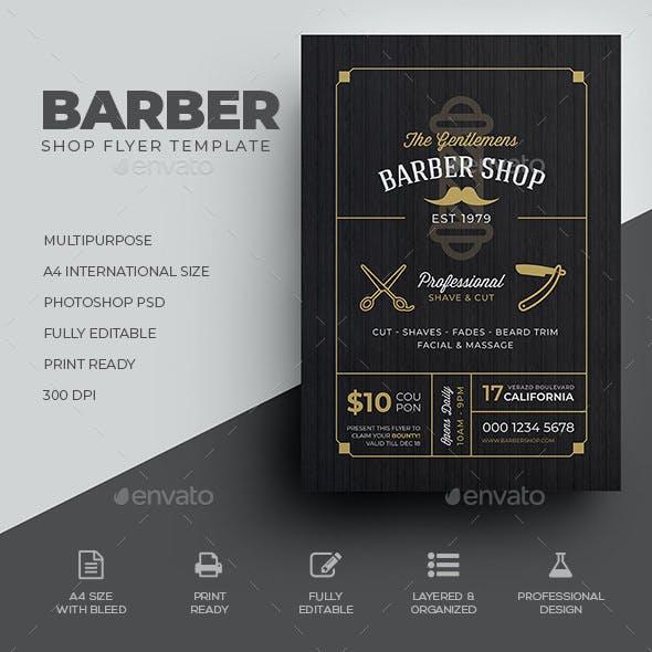 Barber Shop Flyer