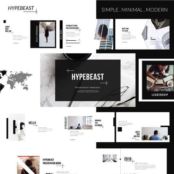 Hypebeast - Business Keynote Presentation Templates