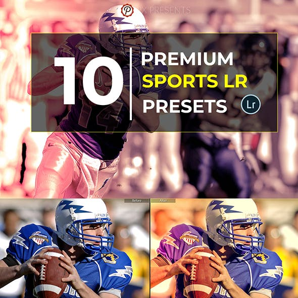 10 Pro Sports Lightroom Presets