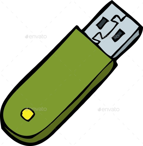 Doodle Flash Memory - Man-made Objects Objects