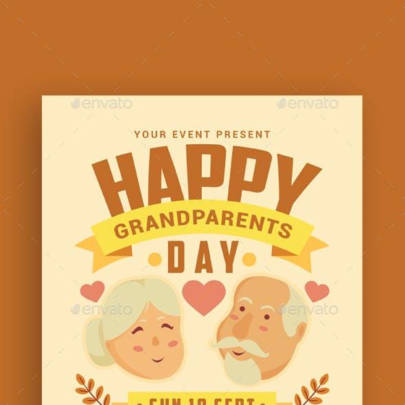 Grandparents Day Flyer
