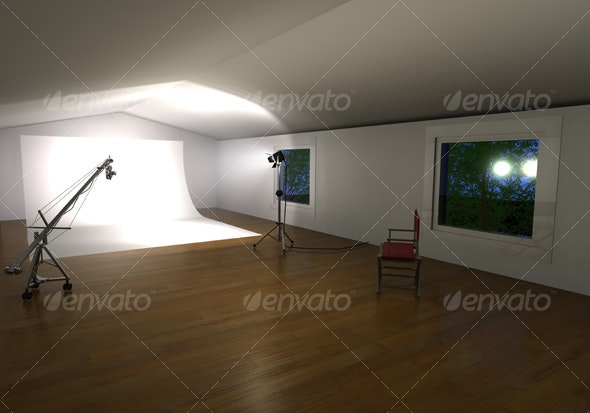 3D Photo Studio - 3D Backgrounds