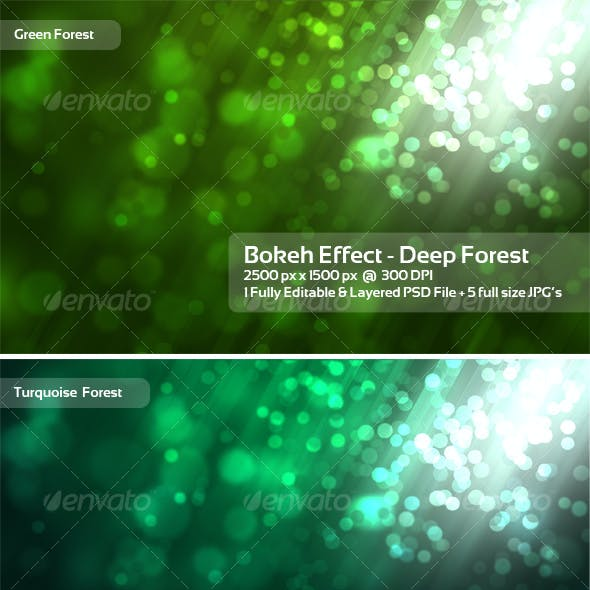Bokeh and Green Graphics, Designs & Templates from GraphicRiver