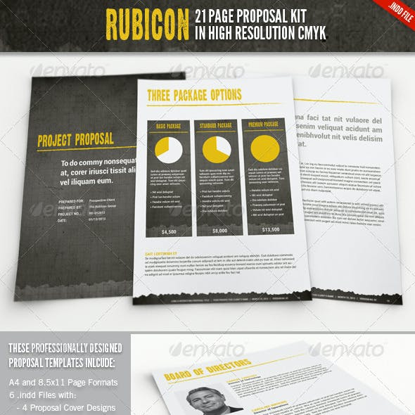 Rubicon Proposal Template Kit