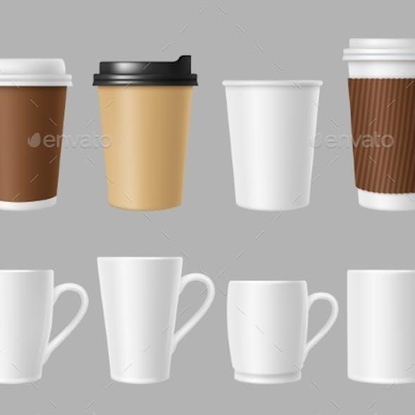 Coffee Mockup Cups