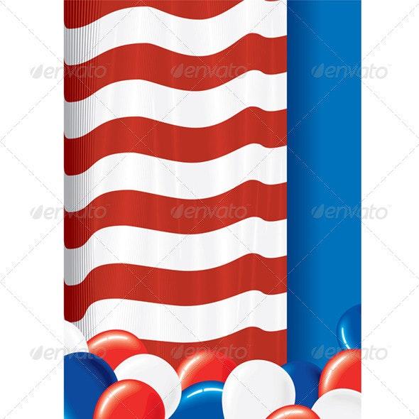 Patriot Background - Backgrounds Decorative