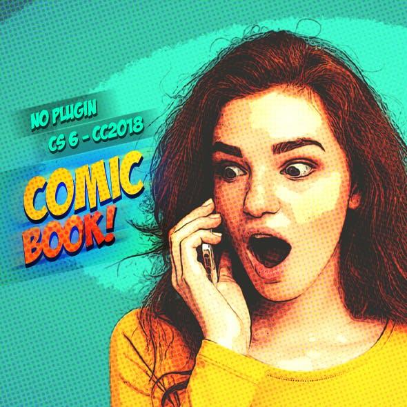 Premium Comic Book Paint