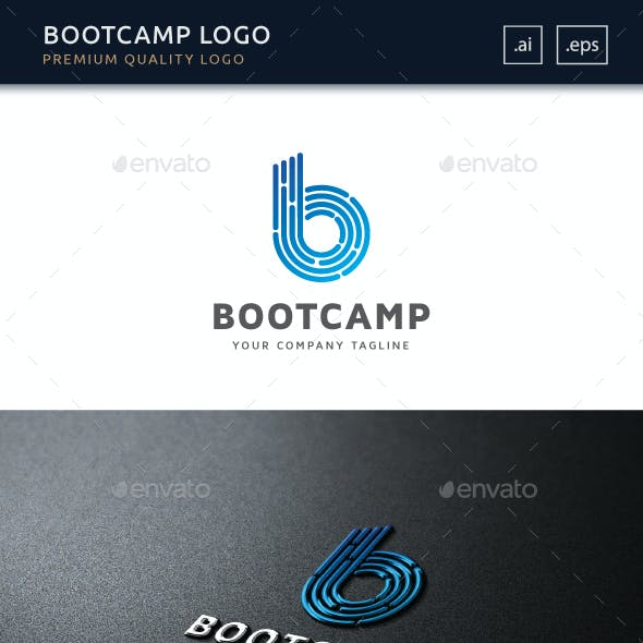 Bootcamp - Letter B Logo Template