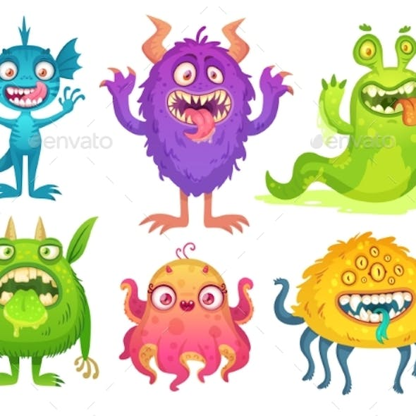 Cartoon Monster Mascot