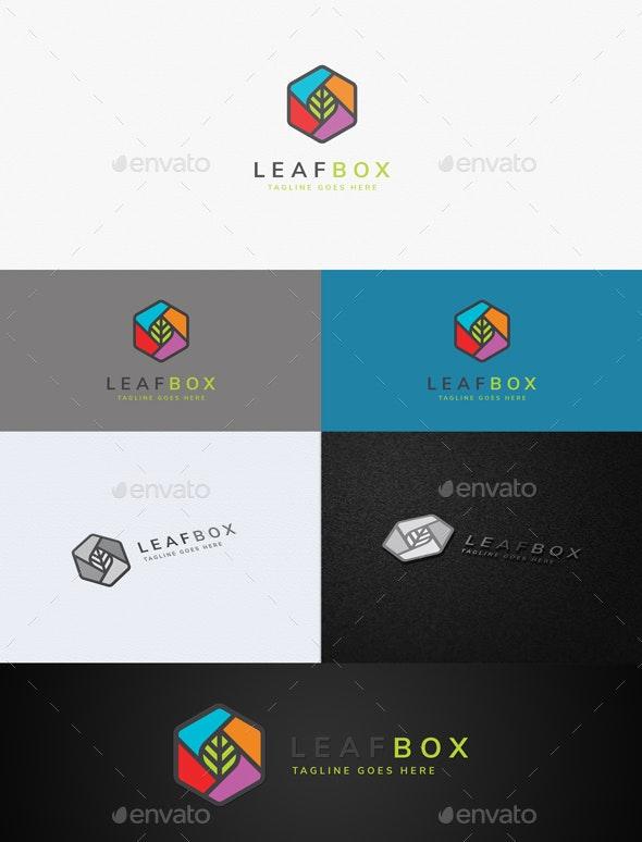 Leaf Box - Nature Logo Templates