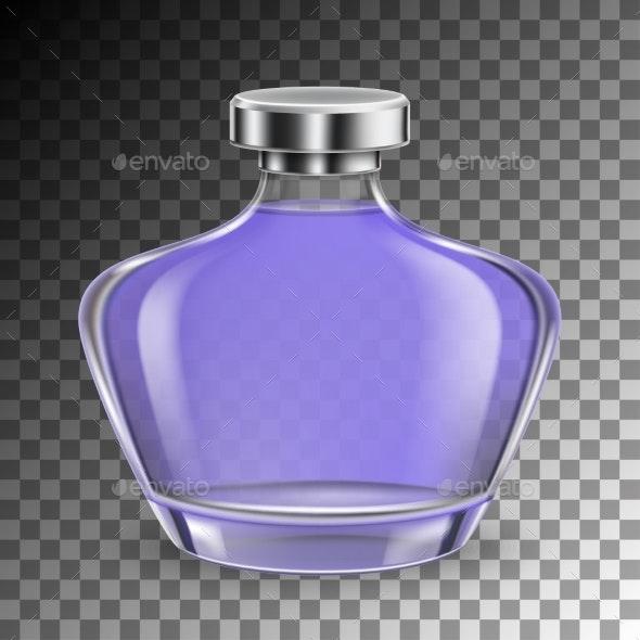 Perfume Glass Bottle - Backgrounds Decorative