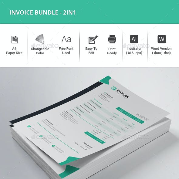 Invoice Bundle - 2in1