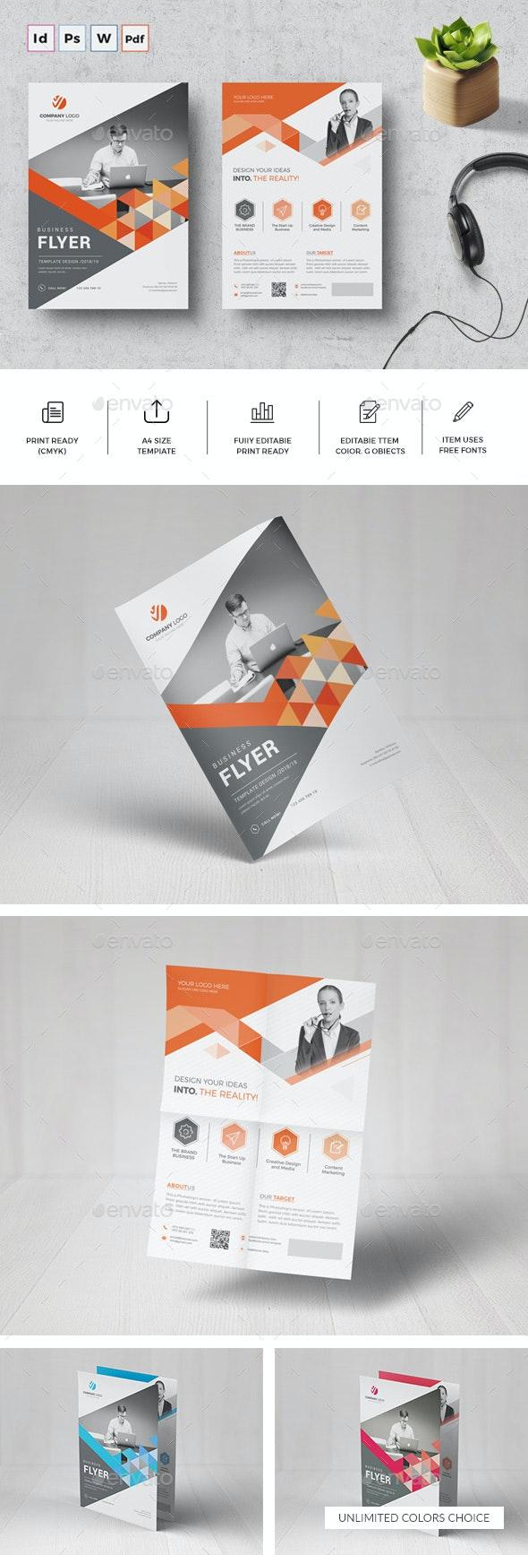 Corporate Flyer Template - Corporate Flyers