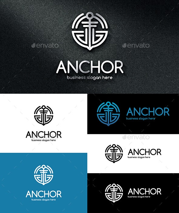 Anchor Logo - Objects Logo Templates