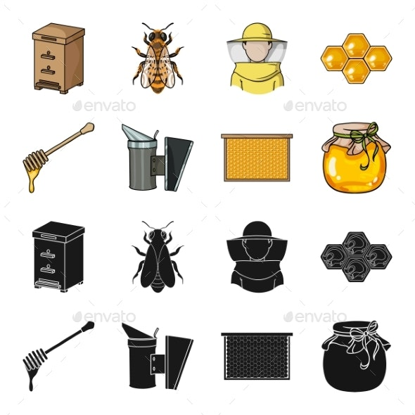 Apiary Set - Miscellaneous Vectors