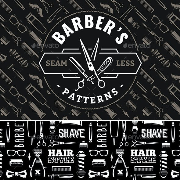 Barber Pattern | Seamless Texture