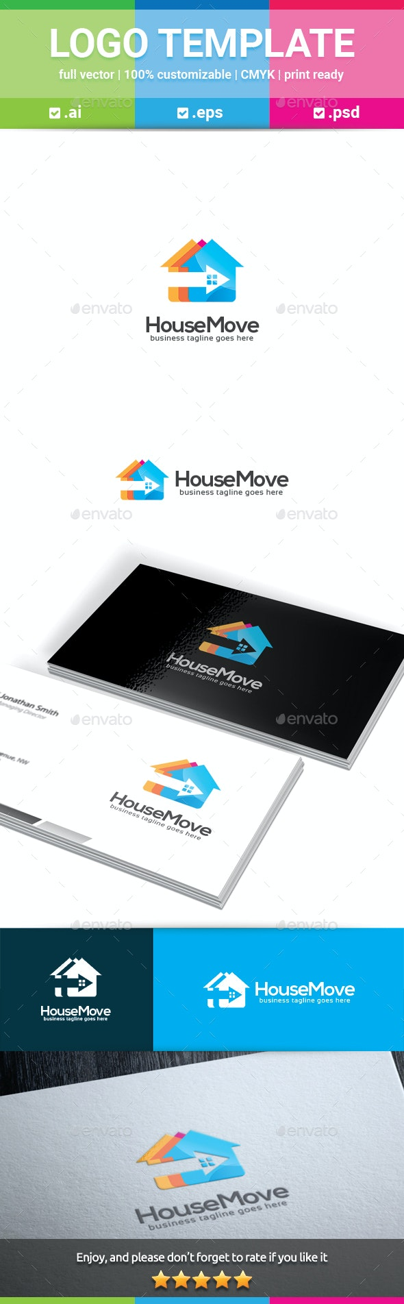 House Move Logo - Buildings Logo Templates
