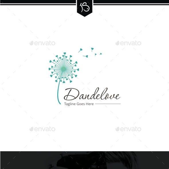 Dandelove - Dandelion Logo Template