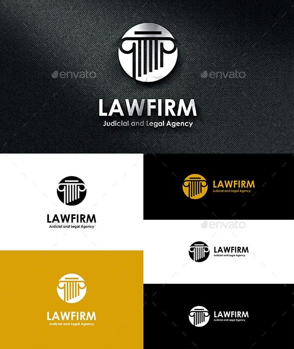 Law Firm Logo v2 - Symbols Logo Templates
