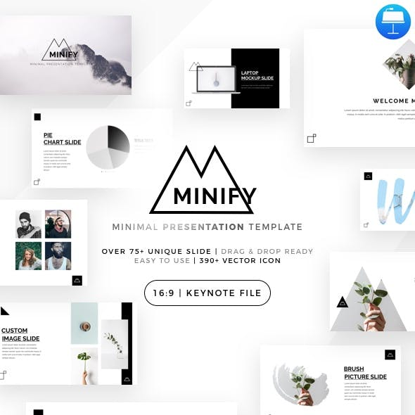 Minify - Minimal Keynote Template