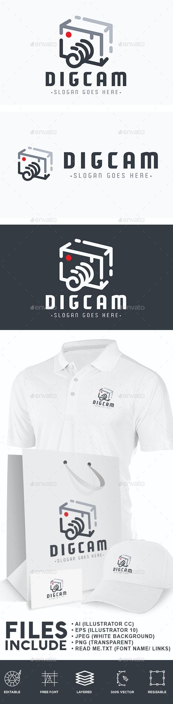Camera Digital Logo - Symbols Logo Templates