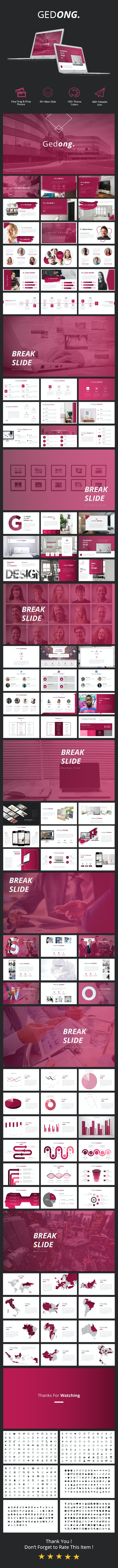Gedong - Pitchdeck Powerpoint Template - Pitch Deck PowerPoint Templates