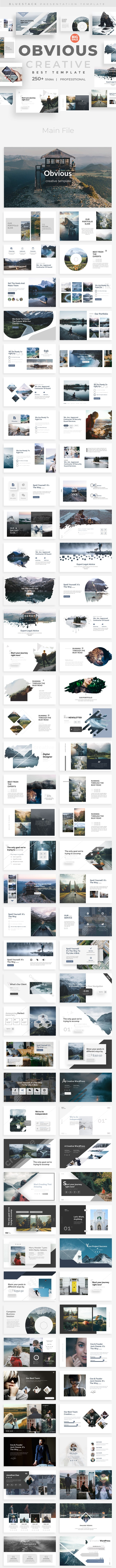 Obvious Creative Powerpoint Template - Creative PowerPoint Templates